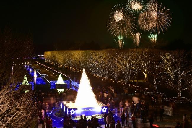 国営昭和記念公園 Winter Vista Illumination 2018