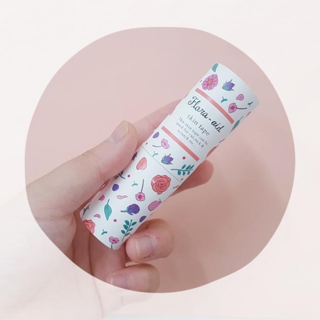 スキン保護テープ「Flora-aid」