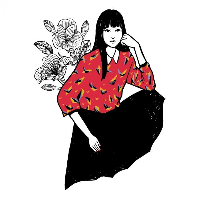 イラストレーター・グラフィックデザイナー Kawai Satomi