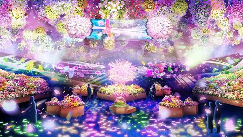新感覚エンターテインメント型フラワーパーク「HANA🌼BIYORI」