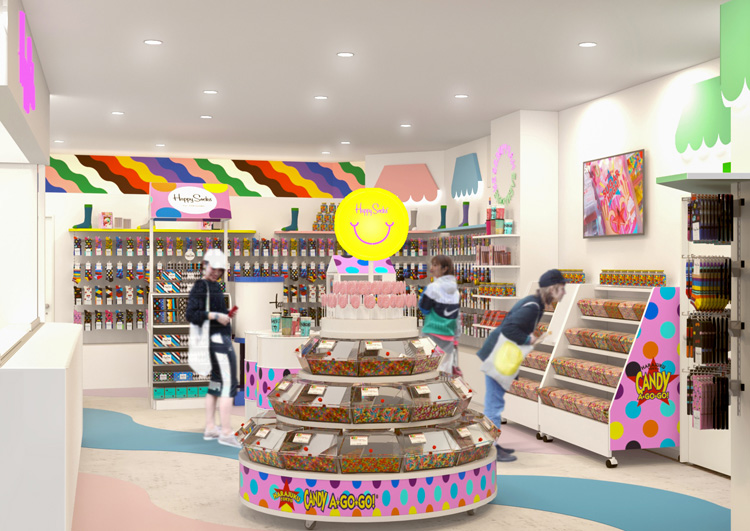 イクスピアリ®「Happy Socks Candy Café」