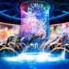 海の世界に打ち上がる花火アート マクセル アクアパーク品川「NAKED 花火アクアリウム」
